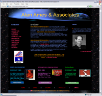 web site screenshot